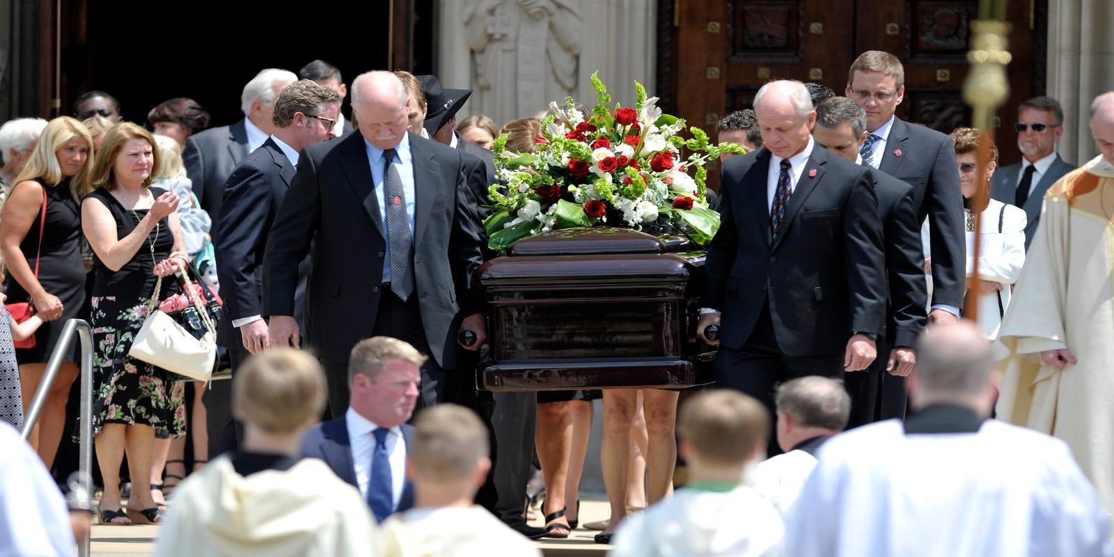 Gordie Howes Funeral