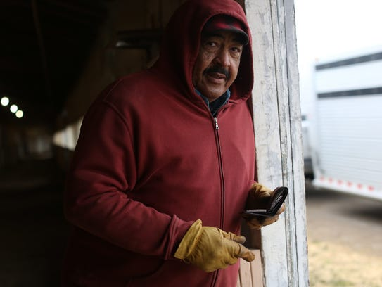 Horse Trainer James Jackson, 72, of Highland Twp stands