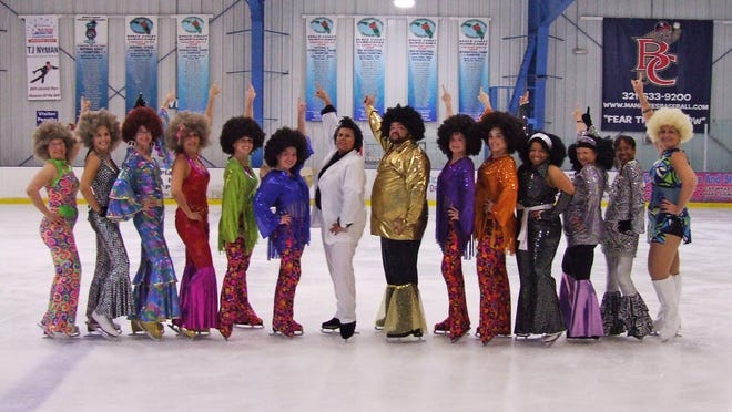 The Space Coast Hurricanes adult Theatre on Ice team will compete in France on Friday.