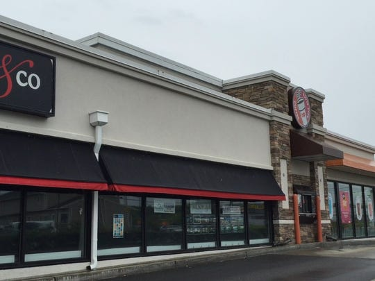 A Dunkin' Donuts and Gloria Nilson office have opened
