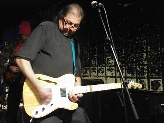 Pete Panek plays at The Nines on Monday.