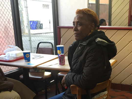 Bonnie Foot, 60, comes to Kennedy Fried Chicken almost