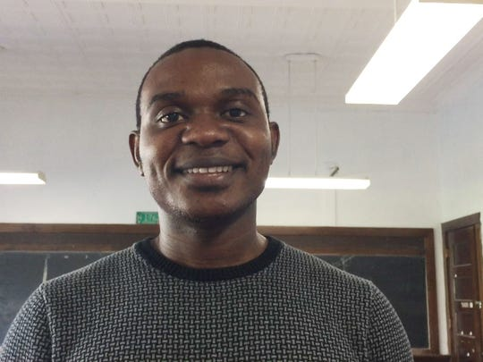 Francis Manga, the Youth Program Director for the Association