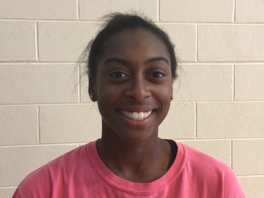 Wetumpka senior Kasie Thomas said assistant coach Adrienne