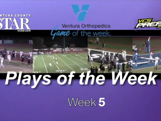 Plays of the Week: Week 5