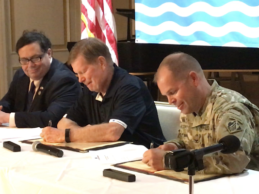 Ship channel agreement signed
