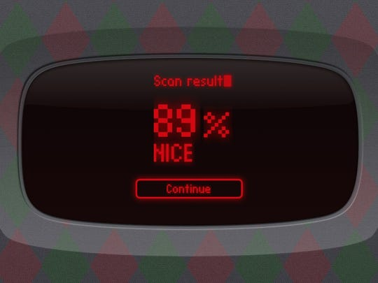 Apps can scan your finger and see if you've been naughty or nice.