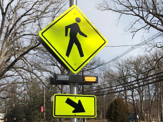 This Pedestrian Hybrid Beacon at a fatal crash site