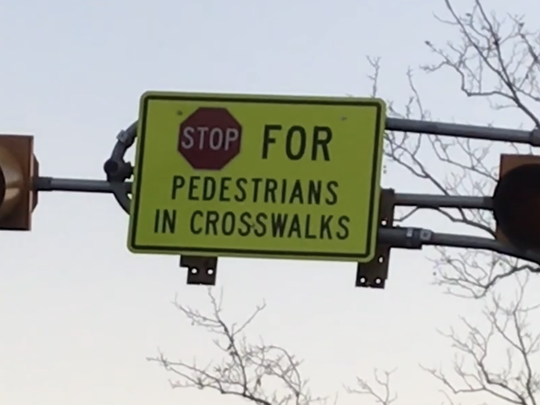 The U.S. Department of Transportation recently withdrew approval of flashing pedestrian beacons, like this one in Teaneck, despite their effectiveness in safeguarding pedestrians in other parts of the country.