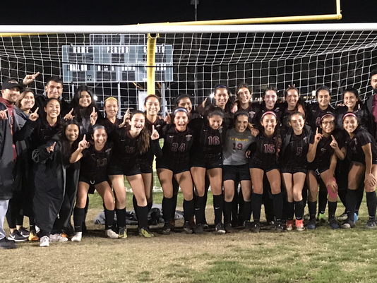 Oxnard High girls soccer