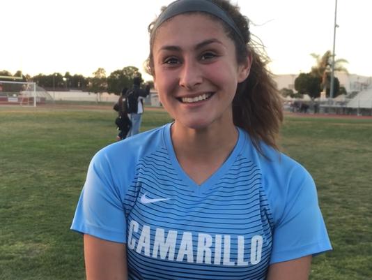 Camarillo High girls soccer Alex Gonzalez