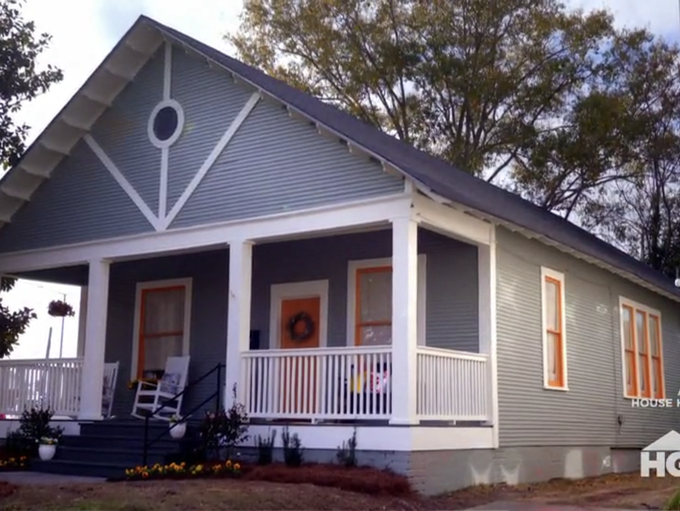 """The Campbell House on HGTV's """"Home Town"""""""
