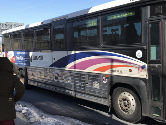 A NJ Transit bus