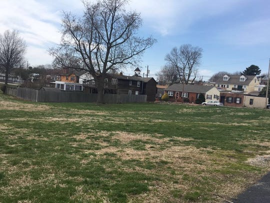 Site of a proposed parking lot planned for Old New