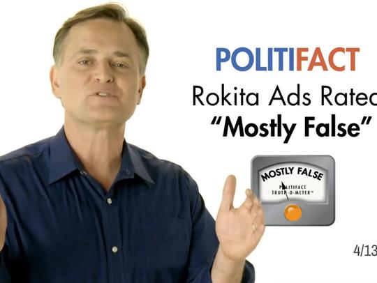 Screenshot of an ad run by GOP Senate candidate Luke
