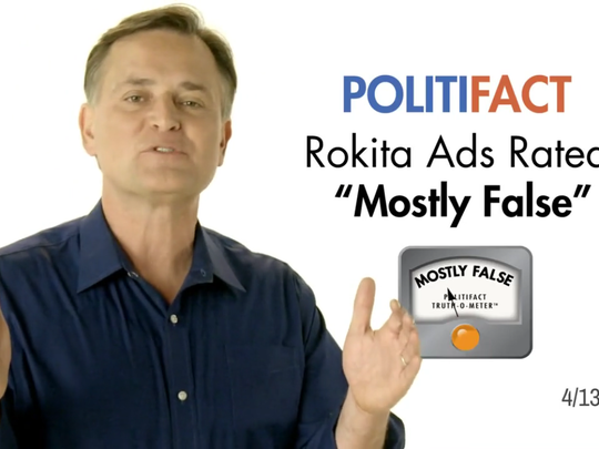 Screenshot of an ad run by GOP Senate candidate Luke