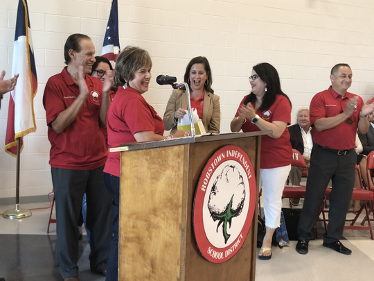 Robstown Early College High School hosted a ribbon-cutting
