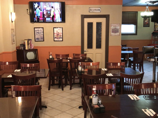 TV Land Cafe on Wanaque Avenue in downtown Pompton