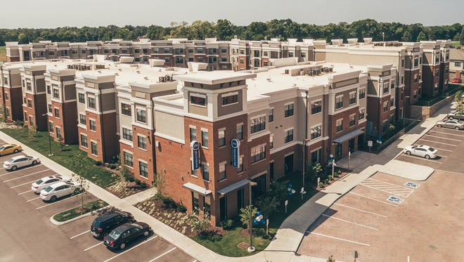 The apartments at Vintage at Century Farms will be similar to those at 3343 Memorial in Murfreesboro.
