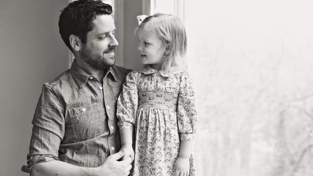 Olivia and her father Ben Nunery.