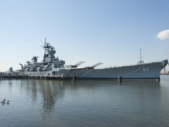 Battleship New Jersey is available for tours and overnight