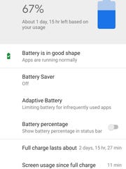 Android P may extend battery life.