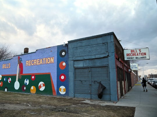 Bill's Recreation seen on Friday, February 5, 2016, in Detroit.