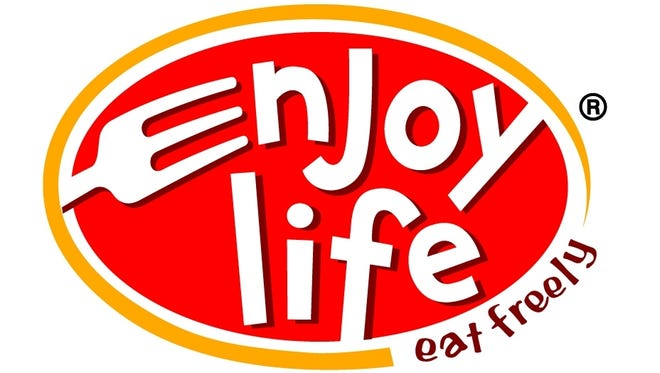 Enjoy Life Foods. logo, now North America's largest, allergy-freindly bakery.