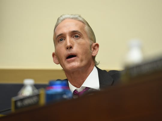 Rep. Trey Gowdy (R-S.C) chairs the House Committee on Oversight and Government Reform.