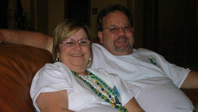 Electra Mayor Ricky Foster, seen here with his wife, hopes the city can get back to business after a year of tumult filled with acrimony and recall elections.