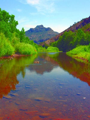 The Gila River is the subject of a diversion project that will affect four counties in southwestern New Mexico.