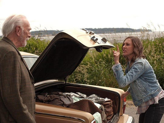 Christopher Plummer, left, and Vera Farmiga star in