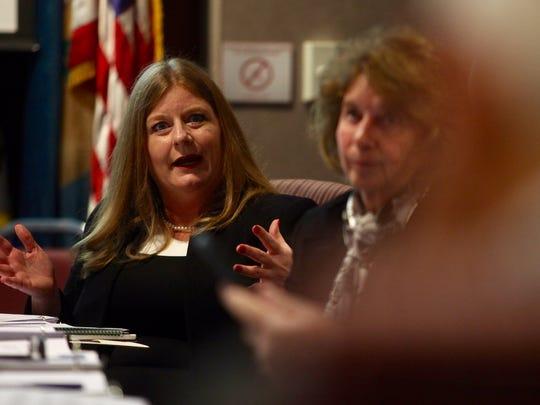 Council President Karen Hartley-Nagle