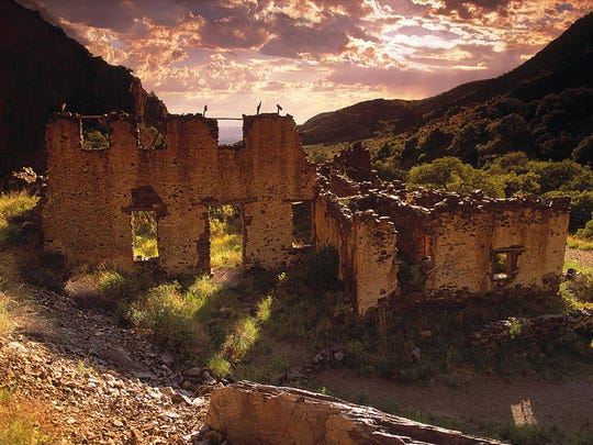 Historic Dripping Springs Resort, in the Organ Mountains-Desert Peaks National Monument, gives a glimpse into the past. It was originally built by Col. Eugene Van Patten in the 1870s and called Van Patton's Mountain Camp.