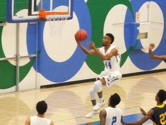 Oxnard College basketball Jakari McClain