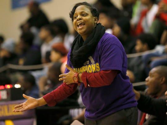 Dee Dee Pate left Milwaukee Bay View to coach at her alma mater, Milwaukee Washington.