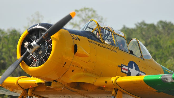 Scenes from Friday's Space Coast Warbird AirShow  at Space Coast Regional Airport.