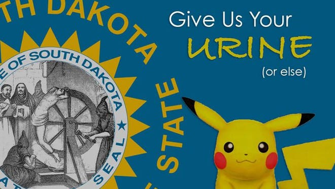 The Sioux Empire Podcast in July 2017 posted an altered South Dakota state seal online to promote the topics they would be covering in the show. A bill making its way through the state Legislature would make that a crime.