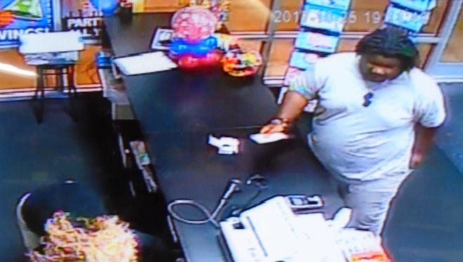 A person of interest connected to the use of counterfeit currency at several stores in the North Cornwall area. Police ask anyone who can identify this individual to call them at 717-274-0464