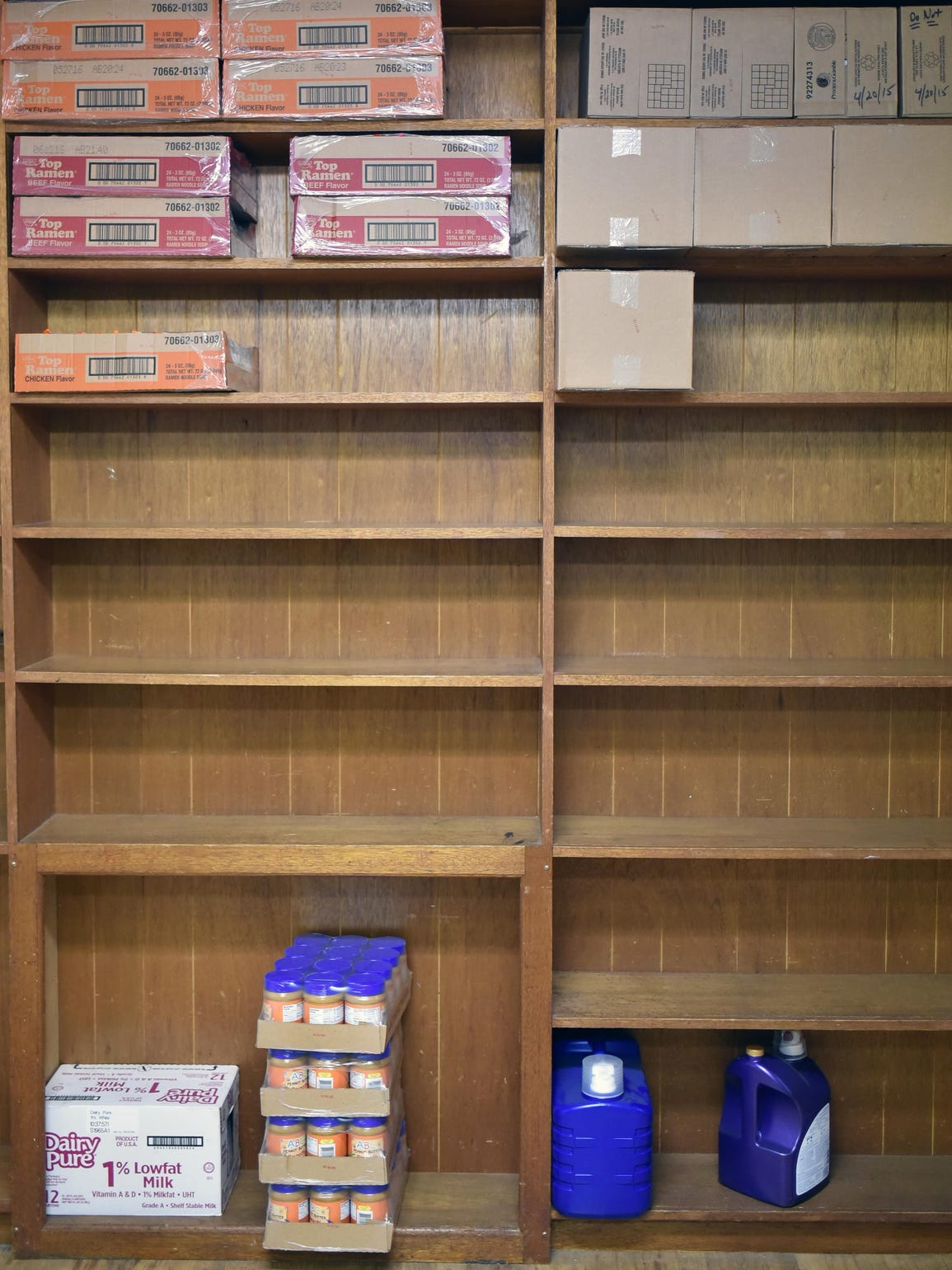 Food is flying off the shelves at the Help & Hope Ministries