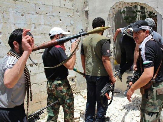 GAN CLERIC MILITANTS SYRIA 050414