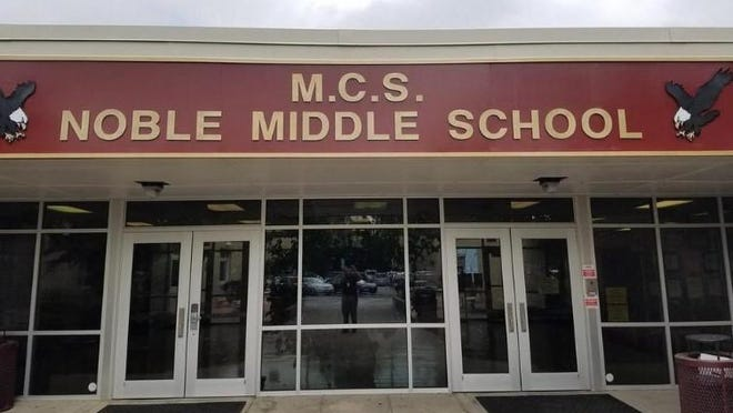 A New Hanover County Schools employee working at Noble Middle School has tested positive for COVID-19, the district announced Saturday evening.