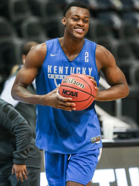 Kentucky freshman Jarred Vanderbilt missed the NCAA Tournament with an ankle injury