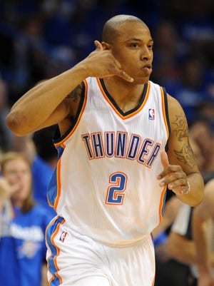 Caron Butler was a valuable shooter for the Thunder last year.