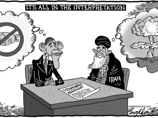 Image result for Nuclear Iran CARTOON