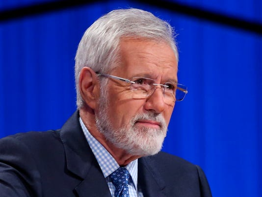 Alex Trebek with beard