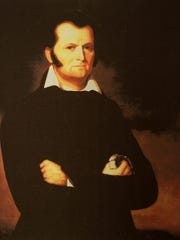 """Jim Bowie Jim Bowie was injured during what it is known as """"The Sandbar Fight,"""" a duel between political rivals that took place in Vidalia along the Mississippi River.The incident gave birth to the legend of the Bowie knife."""