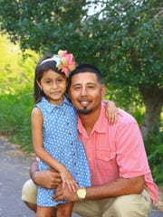 A photo from spring of this year showing Alex Garcia, 28, and his 5-year-old daughter Alexis, both of whom died involved in a Collier County crash. Alex Garcia left behind his fiancee Jenny Anzualda Garza, 28, and their 10-year-old son Jeremiah Garcia, who are in critical condition. The couple was engaged.