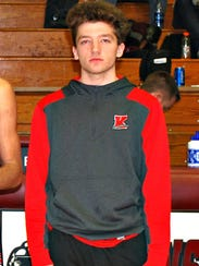 Dylan Hiner was the only sophomore named to the All-Henry