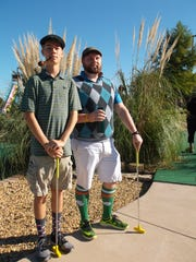 The Team CPA Vintage Golfers compete in the ninth annual Putt Fore Children Miniature Golf Tournament benefiting Day Nursery of Abilene.